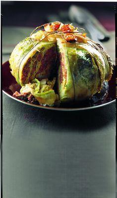 Stuffed cabbage - Chou farci - Cuisine et Vins de France