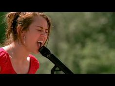 Hannah Montana Miley musik video - The Climb-a song to just keep going..lovely lovely words..<3..i like miley cyrus version better..but this vid is good:)