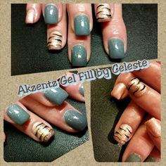 Akzentz Gel Nails By Me Fill Nail