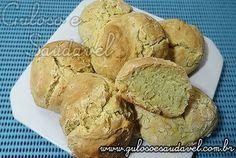 Pão de Minuto sem Fermento » Guloso e Saudável