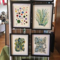 Live in Halifax? Come see my art in person at the Banook Canoe club today from 10am to 4pm! Abstracts are sold framed at craft shows and markets. Contact me for details! :)