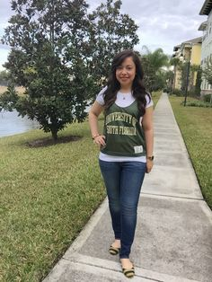 0c19f55bf  USF basketball gameday outfit College Basketball