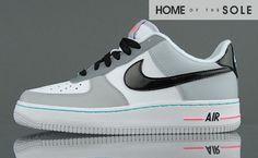 cb8ffdb82401c7 Nike Air Force 1 GS White Black – Cool Grey