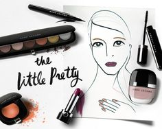 #HowTo get this Marc Jacobs-inspired look of coquette contrast - read more on the Glossy! #Sephora