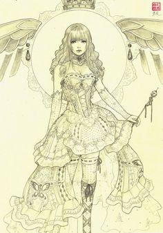 Azina - Original Drawing