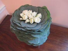 Ruffled eucalyptus | Chic Floral Designs