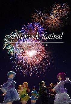夏の花火大会