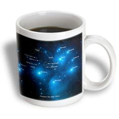 I'm learning all about Recaro North 3dRose - Sandy Mertens Space Gallery - Galaxy and Nebula - Pleiades Star Cluster Map (M45) - 11 oz mug at @Influenster!