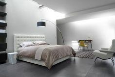 Französische Schlafzimmer-Marken bei Maison Et Objet: Ligne Roset Ligne Roset, Apartment Desk, Adjustable Floor Lamp, Upholstered Bed Frame, Bed Furniture, Bed Design, Contemporary Furniture, Bedding Sets, Small Spaces