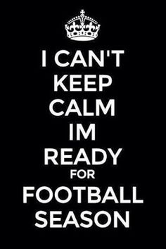 NFL football and my Lifestyle Blitz! : I can't keep calm....