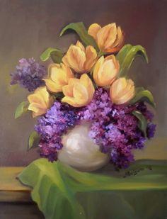 The Yellow Tulips ~ Anca Bulgaru