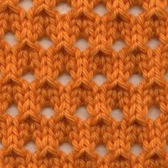 Crochet Stitches Patterns Knot Knecessarily Known Knitting: Symmetrical Yarn Over Net Pattern Lace Knitting Stitches, Knitting Basics, Crochet Stitches Patterns, Knitting Charts, Lace Patterns, Easy Knitting, Loom Knitting, Knitting Patterns Free, Knitting Projects