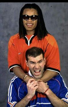 Zidane y Davids