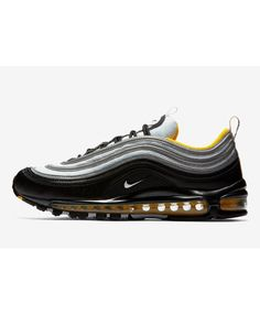 finest selection f03e3 ffede Nike Air Max 97 Black White Amarillo 921826-008 Air Max 97, Sale Uk