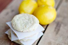 Zesty Lemon Crinkle Cookies