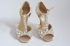 MIU-MIU-Beige-satin-and-diamond-jewel-heels-Size-37-BRAND-NEW
