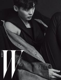 W Korea released more images of their spread with Lee Jong Suk, he looks super amazing. Check it out! Original Images HERE Source | W Korea