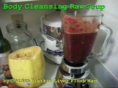 http://cancerdiets.org  ♥ ♥ ♥ CANCER DIETS ♥ ♥ ♥  Healthy ♥ Natural ♥ Anti-Cancer ♥ Raw Food Diet ♥ Soup Recipe   Learn how to make a healthy natural cancer diet reversal cure treatment raw food soup recipe. This yummy raw soup is a delicious way to treat your cancer by providing the body with vitamins, minerals, antioxidants, enzymes, lifeforce and other important nutrients that support and maintain the health of the body and all of it's organs.   Sincerely, Jordan Blaikie (LiverFlushMan)