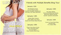 Friends With Multiple Benefits (FWB#6) by Luke Young #romance #humor