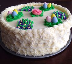 Easter Cake (side view)