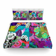 East Urban Home Chita Abstract by Fernanda Sternier Featherweight Duvet Cover Size: Full/Queen