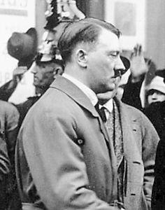 Adolf Hitler in Berlin in 1927… beautiful photo of a young Fuehrer. (via putschgirl)