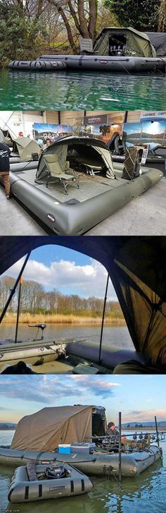 Inflatable Floating Fishing Camping Platform Dock Pier Shoal Tent Raft Boat New Camping Must Haves, Camping List, Camping Glamping, Camping And Hiking, Camping Survival, Outdoor Survival, Camping Hacks, Camping Canopy, Bushcraft Camping