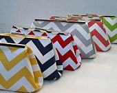 Bridesmaids Clutches Custom Made to Order. $47.00, via Etsy.