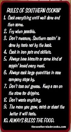 Southern cooking…and that's how it's done y'all! Southern cooking…and that's how it's done y'all! Southern Humor, Southern Pride, Southern Ladies, Southern Sayings, Southern Comfort, Southern Charm, Southern Recipes, Southern Living, Southern Food