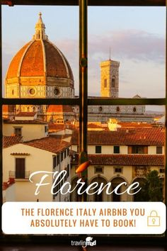 If you're looking for an amazing Airbnb in Florence Italy, look no further than the House of Love. Don't let the name fool you, it's got a jaw-dropping view of the Duomo and the cutest outdoor terrace, for under $150 US per night! Italy trip, Tours in Italy, Italy Travel, Italy vacation, Where to Stay in Florence