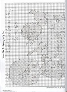 Solo Patrones Punto Cruz (pág. 766)   Aprender manualidades es facilisimo.com