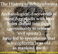 an introduction to the history of schizophrenia a mental disorder Models of relationships between substance use and mental disorders introduction cannabis use and schizophrenia onset introduction history of ketamine.