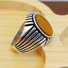 Silver Ring With Pearl Refferal: 2652071693 Jewelry Tumblr, Jewelry Art, Jewelry Rings, Gold Jewellery, Silver Jewelry, Male Jewelry, Silver Earrings, Handmade Rings, Handmade Silver