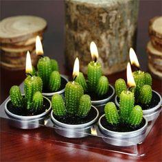 Cacti Tealights