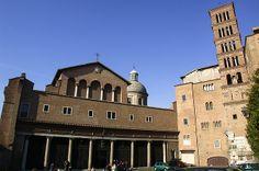 CASE ROMANE DEL CELIO (FONDATIONS DE LA BASILIQUE SAN GIONVANNI E PAOLO) Basilica dei SS Giovanni e Paolo - Roma - 27.12.03 | Flickr: partage de photos!