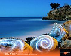 Toby Keller, radica en la ciudad de Santa Bárbara California es especialista en fotografía de paisaje nocturno.