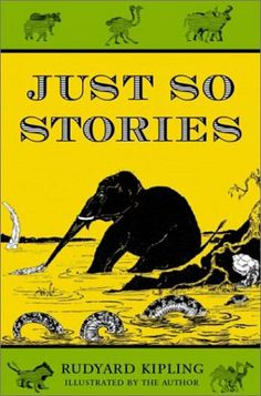 Kipling's own drawings, with their long, funny captions, illustrate his hilarious explanations of How the Camel Got His Hump, How the Rhinoceros Got His Skin, How the Armadillo Happened, and other animal How's. http://www.amazon.com/Just-So-Stories-Rudyard-Kipling/dp/0517266555/ref=sr_1_109?m=A3030B7KEKNTF7&s=merchant-items&ie=UTF8&qid=1394656775&sr=1-109&keywords=children%27s