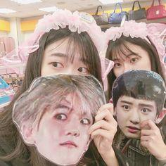 Aesthetic Themes, Kpop Aesthetic, Cute Korean Girl, Asian Girl, Kyungsoo, Chanyeol, Exo Merch, Bts And Exo, Ulzzang Girl