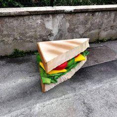 Abandoned Mattresses Turned into Appetizing Food Sculptures – Fubiz Media