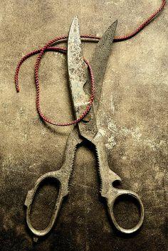 Rusty Scissors & Thread