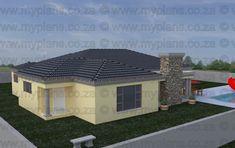 3 Bedroom House Plan - My Building Plans Deck With Pergola, Pergola Shade, Patio Roof, Pergola Plans, Diy Pergola, Pergola Kits, Pergola Ideas, My Building, Building Plans