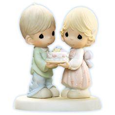 Precious Moments Happy Birthday to Our Love New | eBay