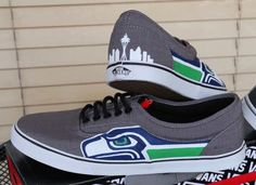 Hey, I found this really awesome Etsy listing at https://www.etsy.com/listing/214341679/seattle-seahawks-shoes-mens