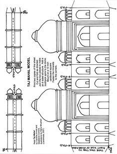 Simpler Taj Mahal for the youngers. http://www.carolinearnoldbooks.com/images/tajmodelplan.jpg