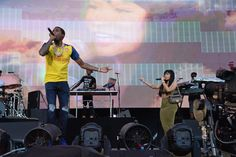 Pin for Later: Die Stars verabschieden den Sommer beim Made in America Festival Nicki Minaj und Meek Mill