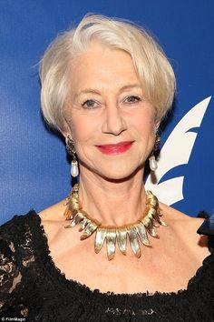 Helen Mirren, I like this cut..