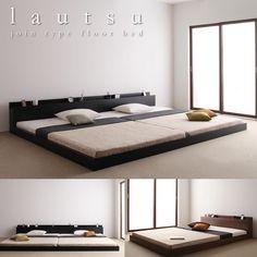 連結対応フロアベッド【LAUTUS】ラトゥース フロアベッドで一番人気のモデルから連結ベッドが登場。シンプルだけどかっこいいデザイン。価格も安く新しいファミリーには特におすすめです。連結ベッドがあれば…