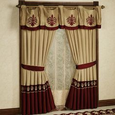 Roman Empire Window Treatment
