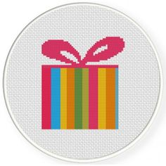 Colorful Present Handmade Unframed Cross by CustomCraftJewelry