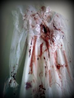 Bloody Mess Zombie Victorian Style Long par ScreamQueenCostumes, $55,00
